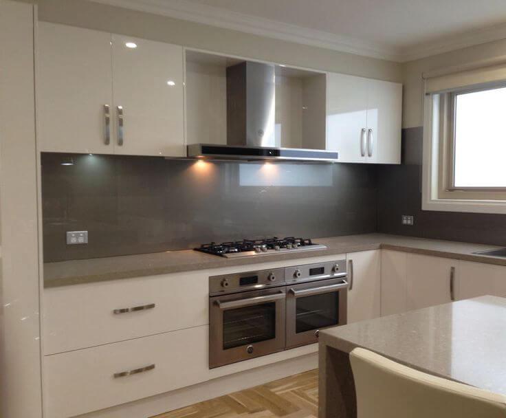 Grey Kitchen Glass Splashbacks Uk ...